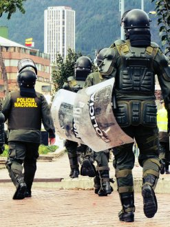 The excessive force used by the police has been documented widely, and has already provoked lawsuits against the National Police by Human Rights groups.